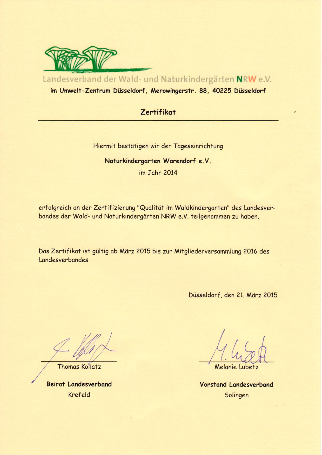 Zertifikat_Naturkindergarten_Warendorf