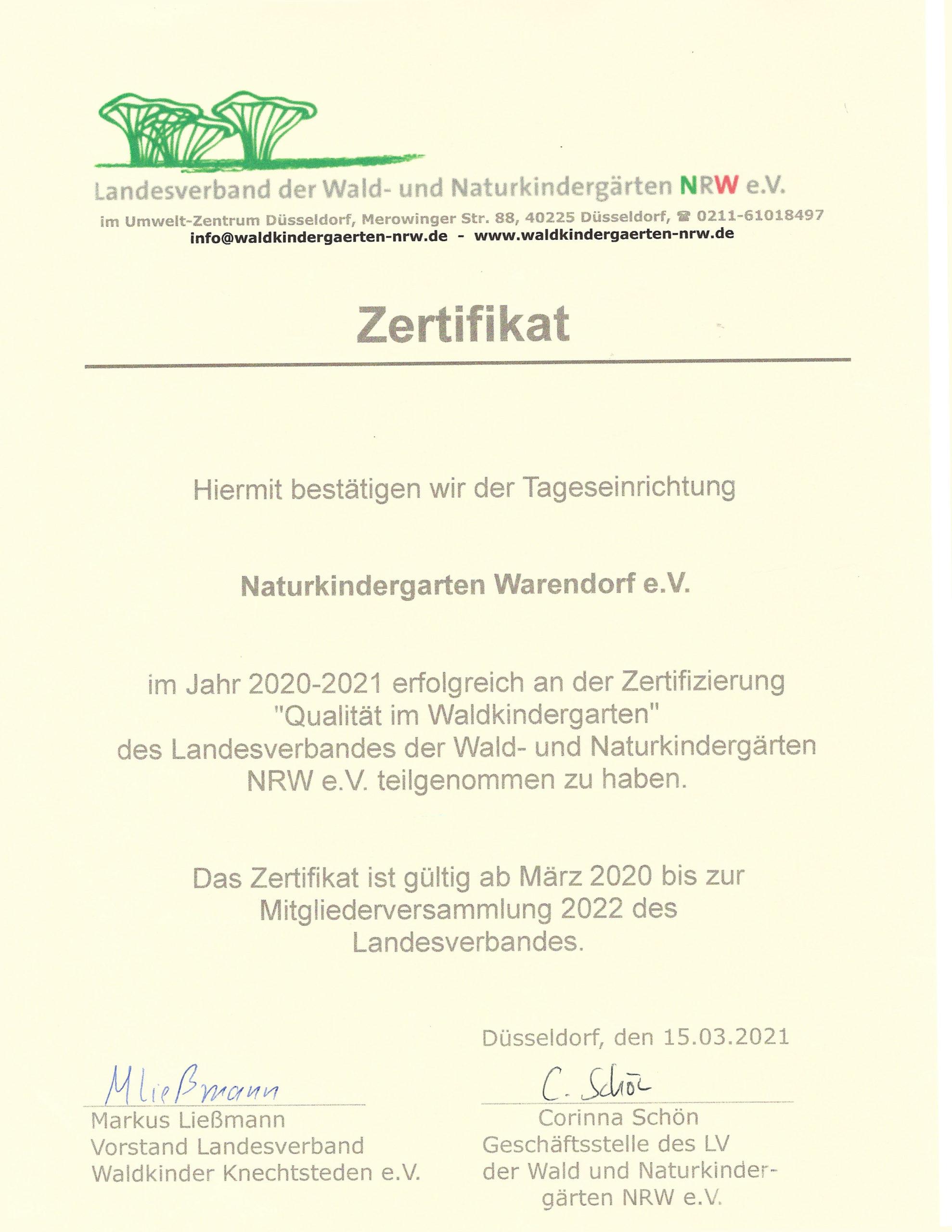 WaldKIGA-Zertifikat2020